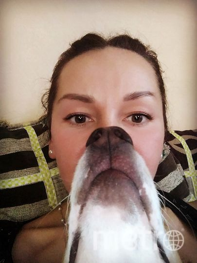 Борода из любимой собачки Тесси. Фото Татьяна