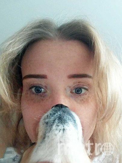Анна и собачка Дина. Фото Анна