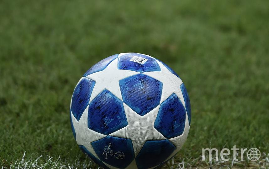 Официальный мяч Лиги чемпионов. Фото AFP