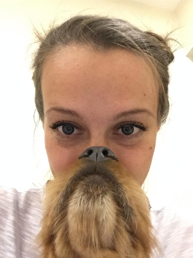 У меня есть борода из моего любимого рыжего пса. Фото Людмила