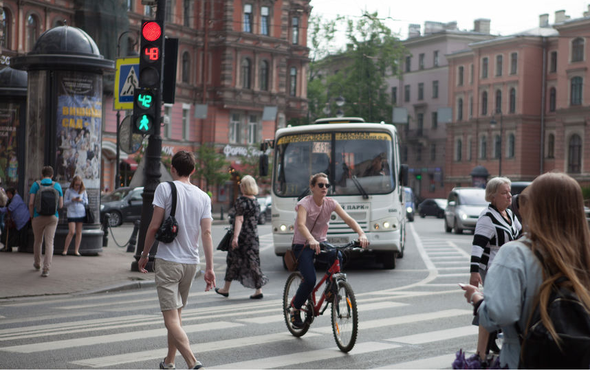 """Майская акция """"На работу на велосипеде"""". Фото """"Metro"""""""