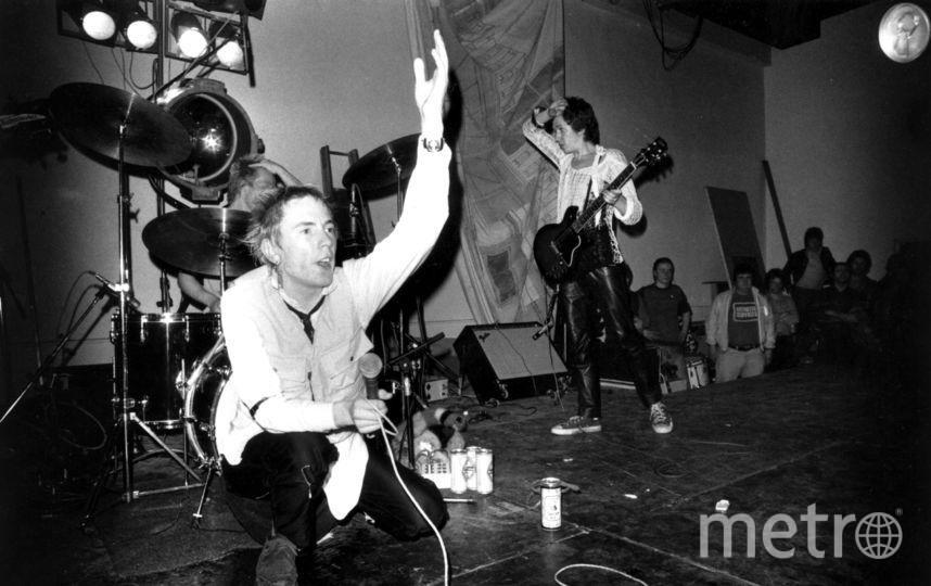 Джонни Роттен в молодости. Фото Getty