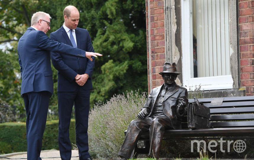 Принц Уильям и британский политик Иан Остин. Фото Getty