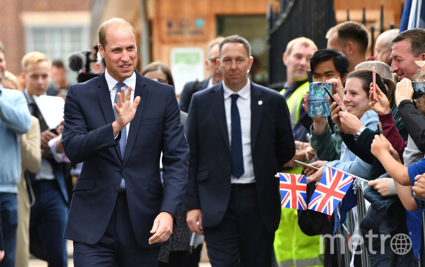 Принца Уильяма в Стокбридже ждал тёплый приём. Фото Getty
