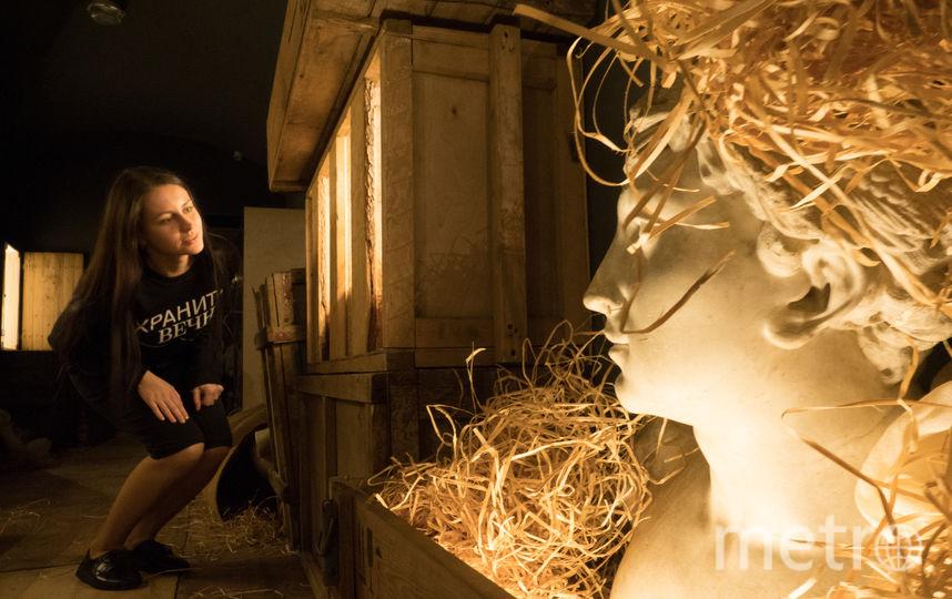 """В Манеже открывается необычный музейно-театральный проект """"Хранить вечно"""". Фото Святослав Акимов., """"Metro"""""""