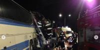 Число жертв аварии с автобусами на трассе