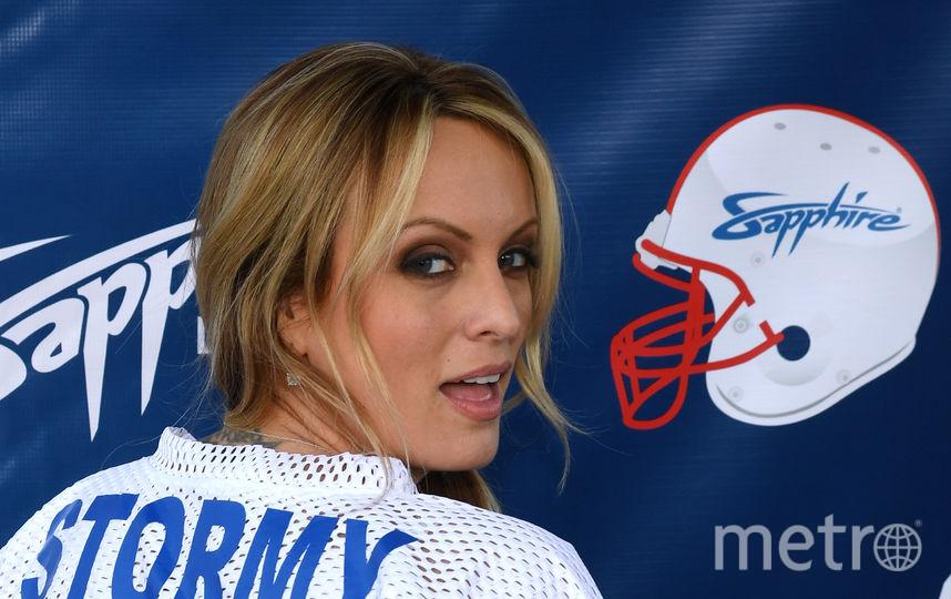 Американская порнозвезда Сторми Дэниелс. Фото Getty