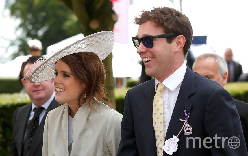 Принцесса Евгения и ее жених Джек Бруксбэнк. Фото Getty