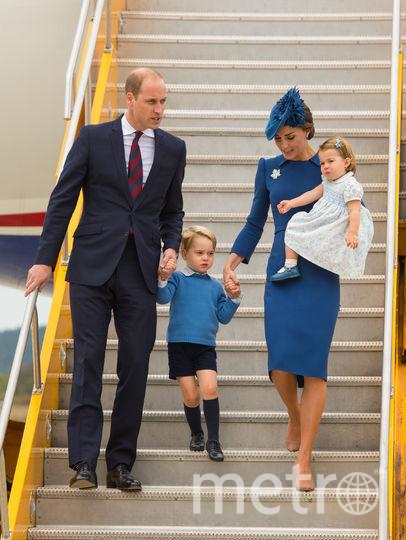 Кейт Миддлтон и принц Уильям во время визита в Канаду в 2016-м году. Фото Getty