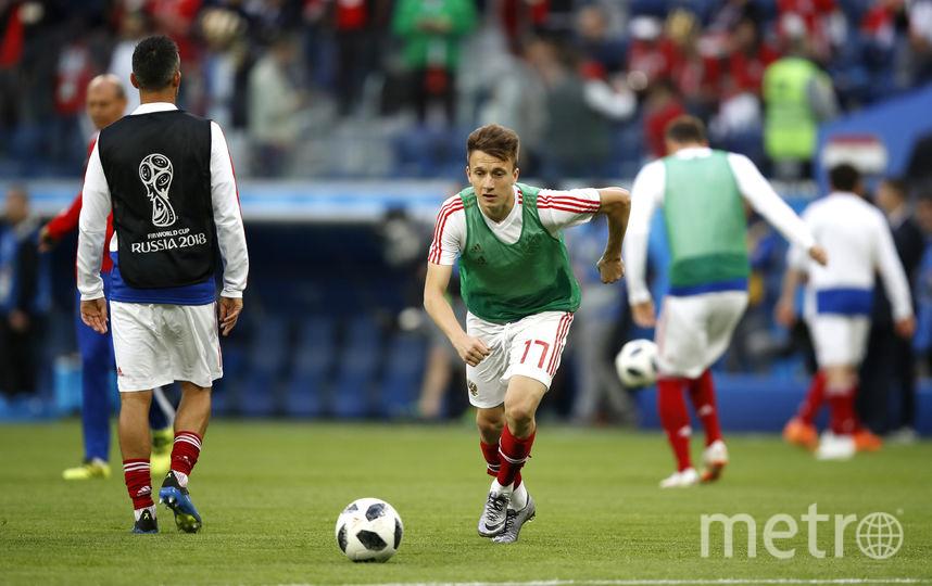 Головин ярко проявил себя в составе сборной России на чемпионате мира по футболу. Фото Getty