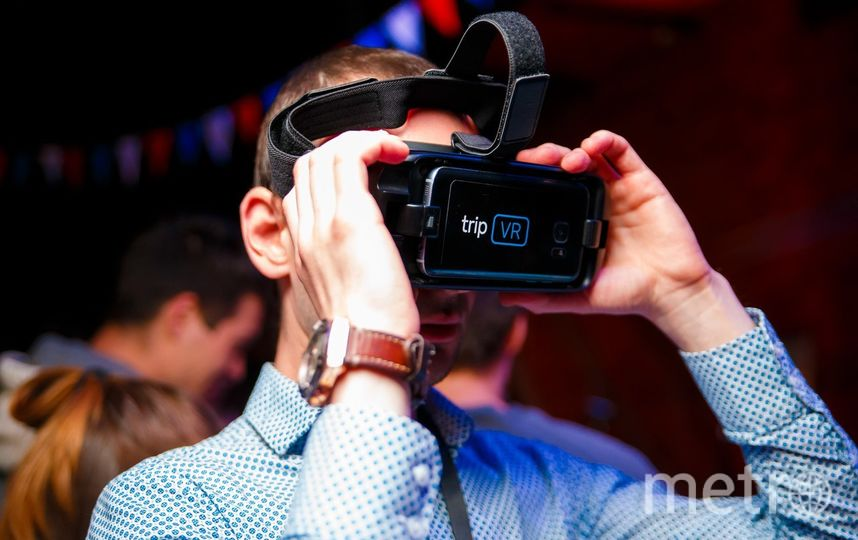 VR-технологии и искусство. Фото Предоставлено организаторами