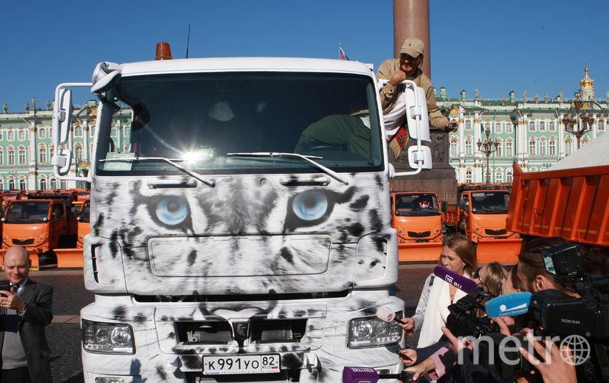 Смотр прошел на Дворцовой 19 сентября. Фото gov.spb.ru