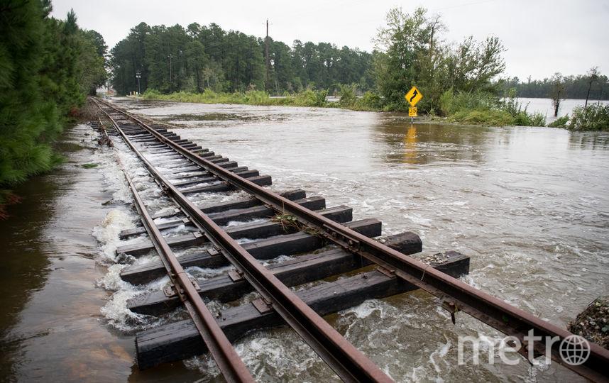 """Последствия шторма """"Флоренс"""", 18 сентября. Фото Getty"""