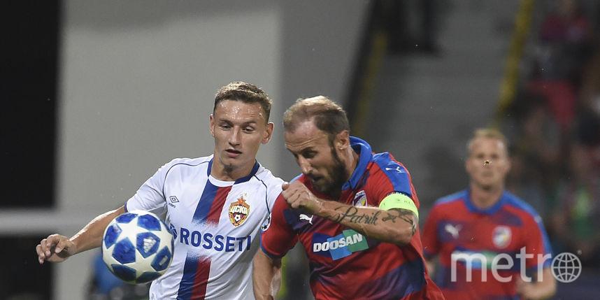ЦСКА вырвал ничью в матче Лиги чемпионов с