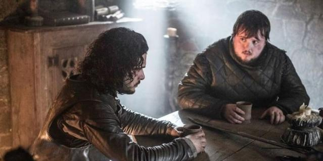 """Джон Брэдли (Сэмвелл Тарли), кадр из сериала """"Игра престолов""""."""