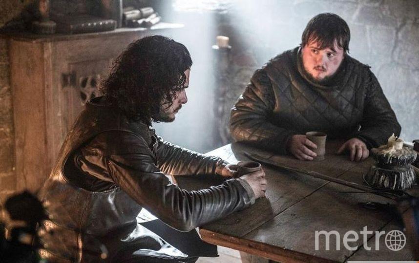 "Джон Брэдли (Сэмвелл Тарли), кадр из сериала ""Игра престолов"". Фото HBO, kinopoisk.ru"