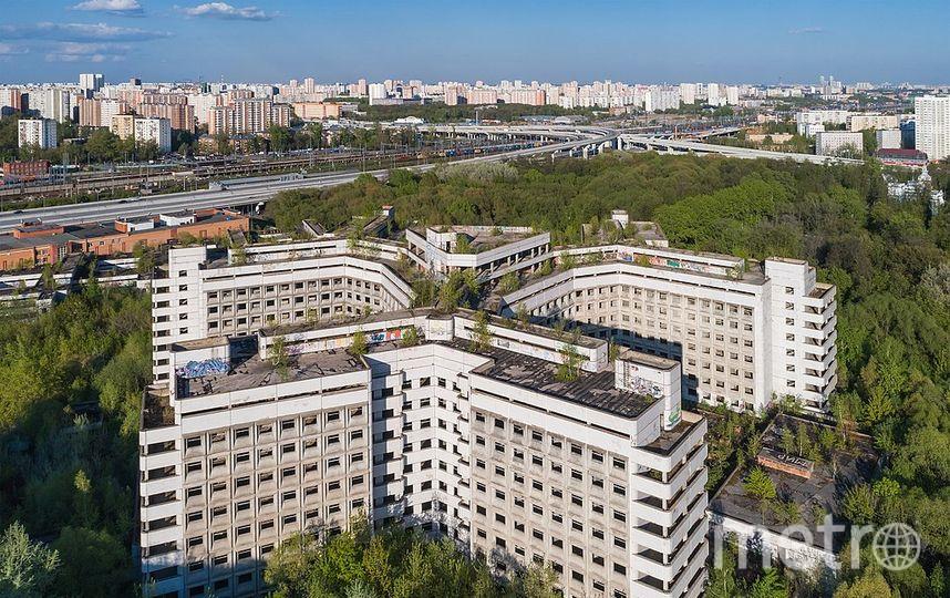 Ховринская больница. Фото wikipedia.org
