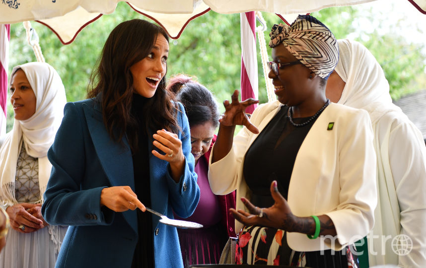 Меган Маркл на благотворительном пикнике. Фото Getty