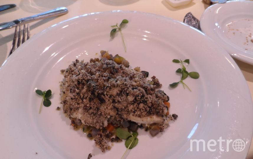"""Бюда в ресторане на лайнере MSC Meraviglia. Фото Наталья Сидоровская, """"Metro"""""""