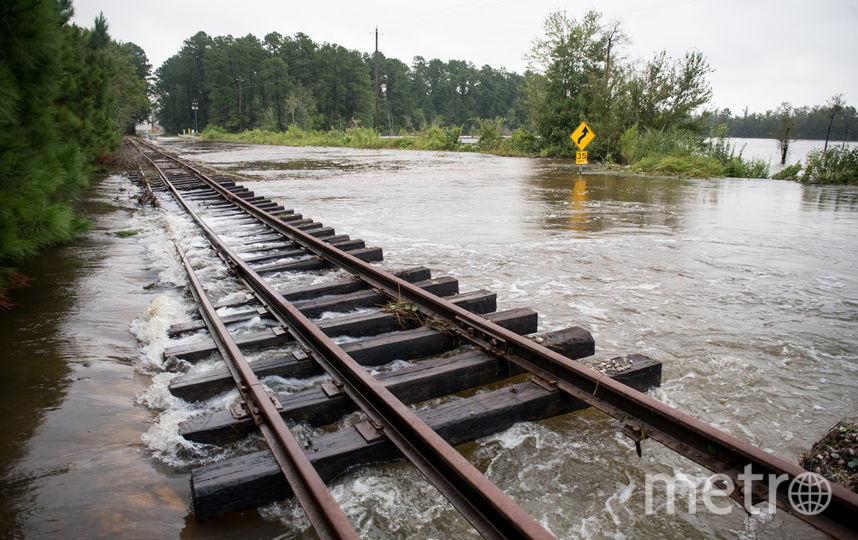 Наводнение в Каролине, США. Фото Getty