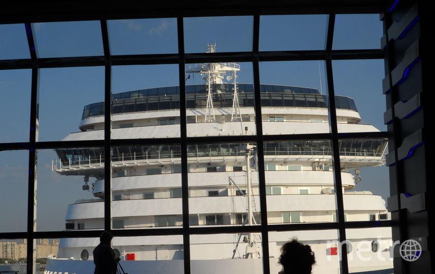 """Вид из окна лайнера MSC Meraviglia. Фото Наталья Сидоровская, """"Metro"""""""