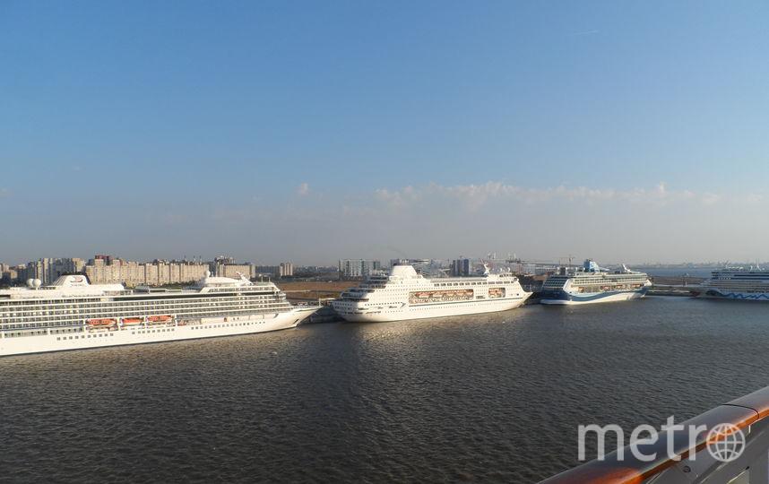 """Вид, который открывается с борта лайнера MSC Meraviglia на Петербург. Фото Наталья Сидоровская, """"Metro"""""""
