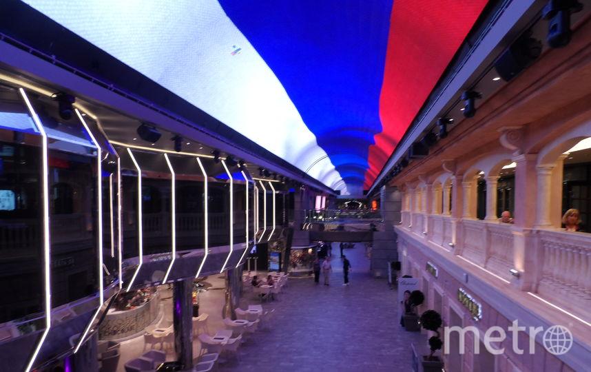 """96-метровый крытый променад с куполом в виде огромного светодиодного экрана площадью 480 кв. метров. Фото Наталья Сидоровская, """"Metro"""""""