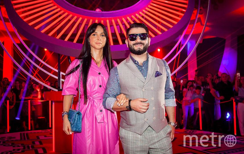 Михаил Галустян с женой. Фото Предоставлено организаторами