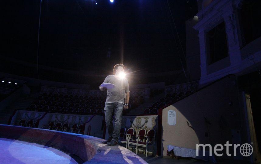 Всемирно известный клоун, итальянец по происхождению Дэвид Ларибле. Фото Предосталвно цирком на Фонтанке.