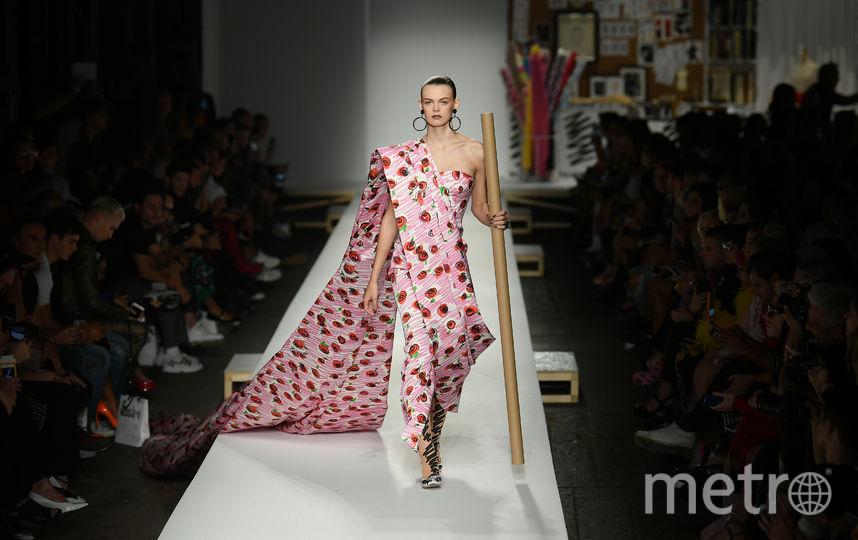 Показ Moschino в рамках Недели моды в Милане. Фото AFP