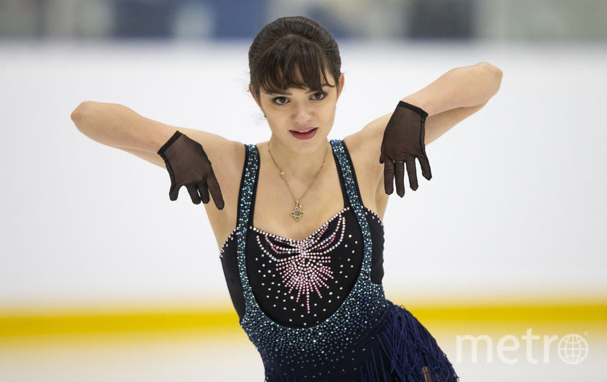 Евгения Медведева на Autumn Classic International 2018 в Канаде. Фото AFP