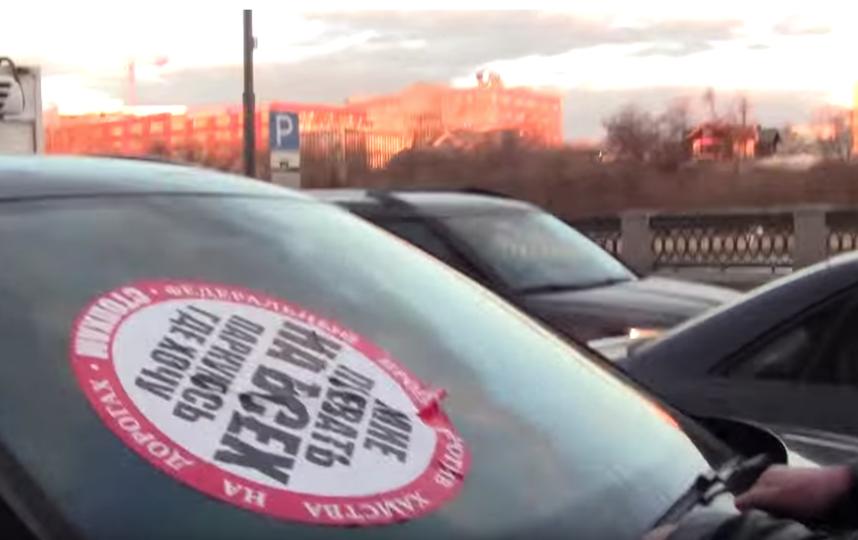 """Движение """"СтопХам"""". Фото Скриншот с канала """"СтопХам""""., Скриншот Youtube"""