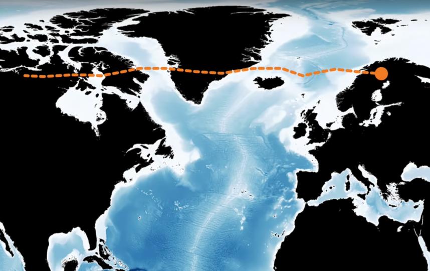 Маршрут следования зонда PMC Turbo. Фото Скриншот YouTube NASA Goddard, Скриншот Youtube