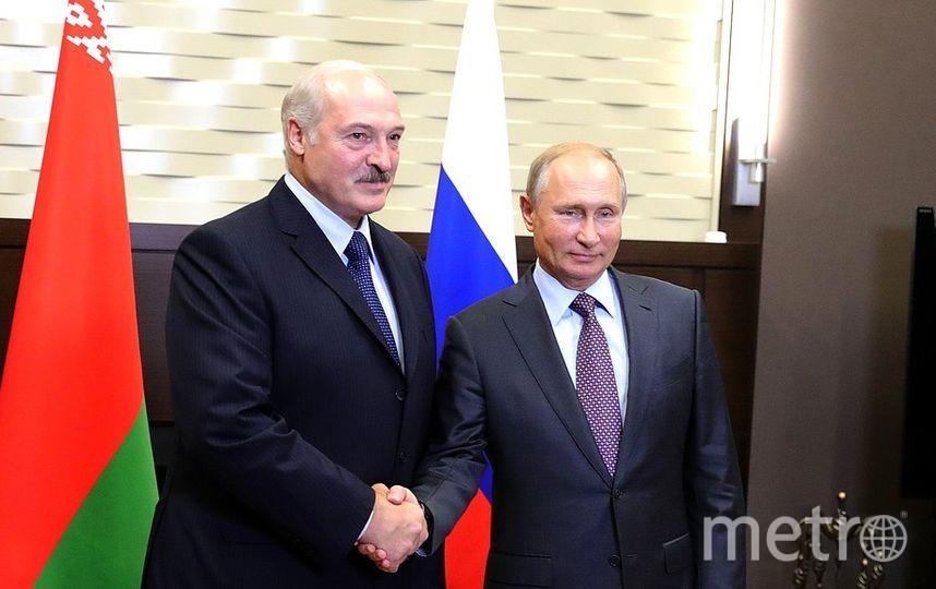 Президент Белоруссии Александр Лукашенко и президент России Владимир Путин. Фото kremlin.ru