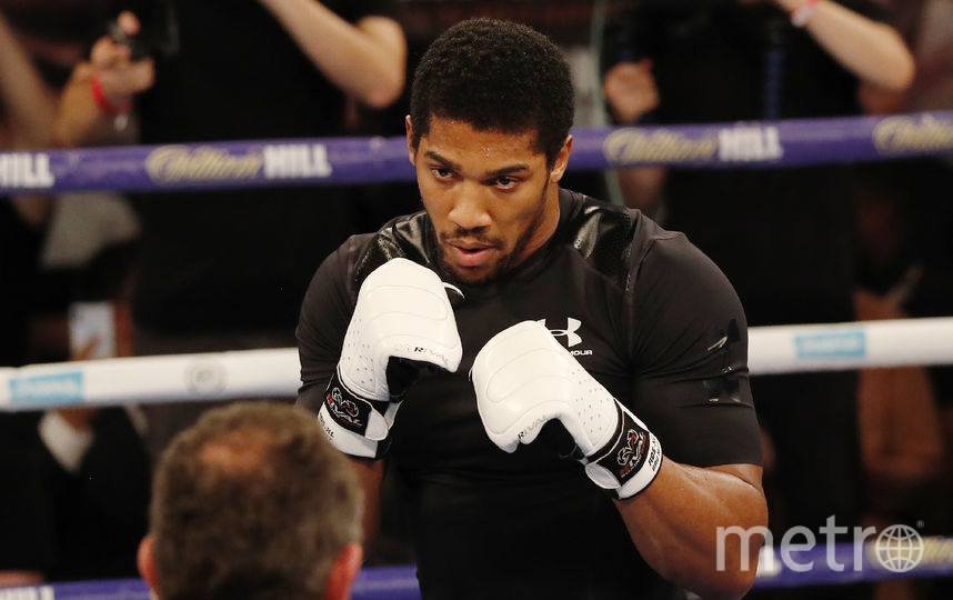 Тренировка Джошуа. Фото AFP