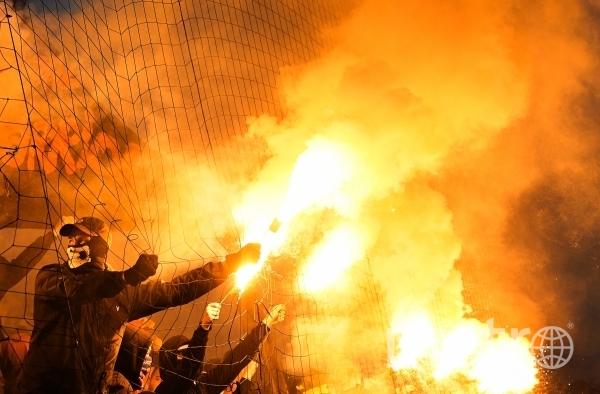 29 271 – столько болельщиков посетило ничейное дерби. Фото РИА Новости