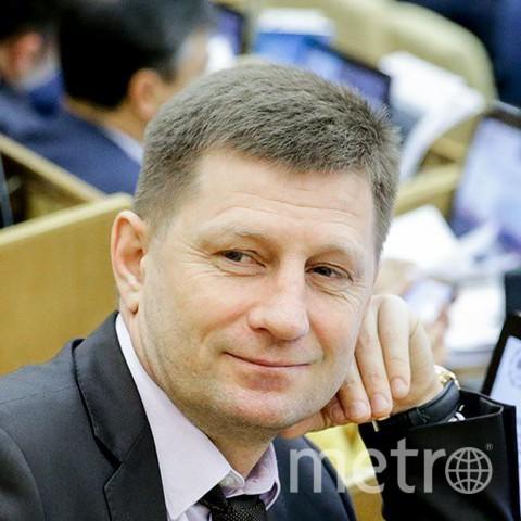 Сергей Фургал стал губернатором Хабаровского края. Фото https://ru.wikipedia.org