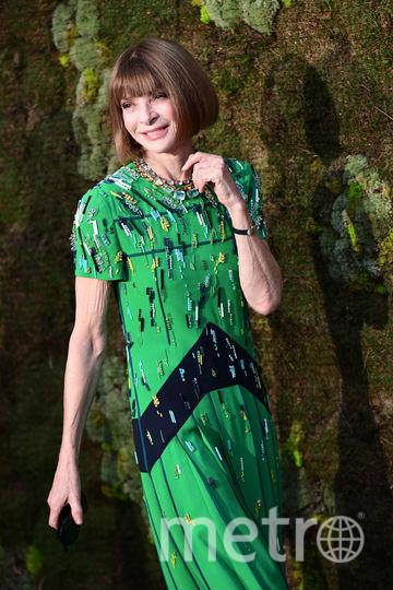 Главный редактор американского Vogue Анна Винтур. Фото AFP