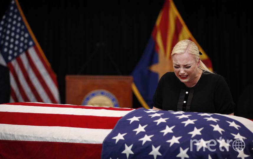 2. Смерть Маккейна. Фото Getty