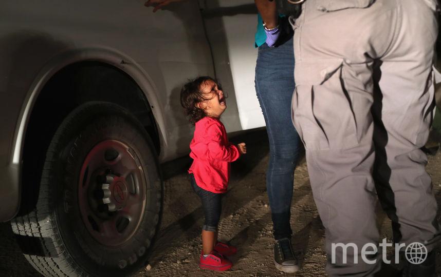 1. Арест мигрантов. Фото Getty