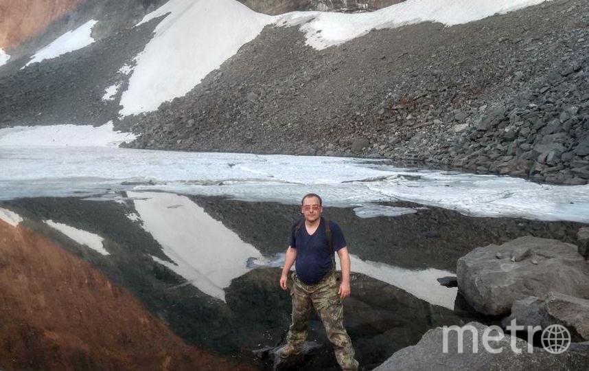 """Как я провел лето ? Лето было очень жаркое даже для Кольского полуострова и то все равно мы с друзьями нашли немного зимы - это """"перевал геологов"""". Фото """"Metro"""""""