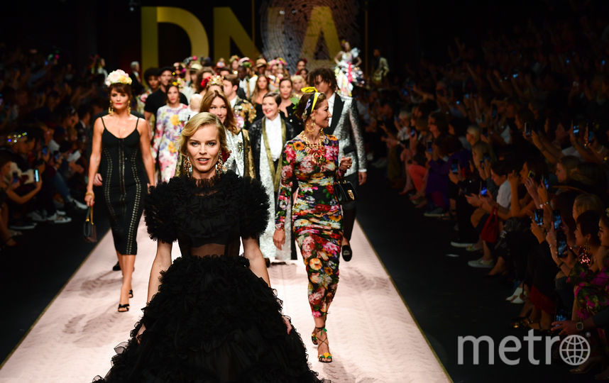 Показ Dolce & Gabbana. Фото Getty