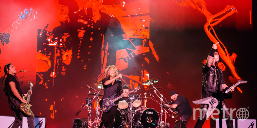 Metallica даст концерт в Москве