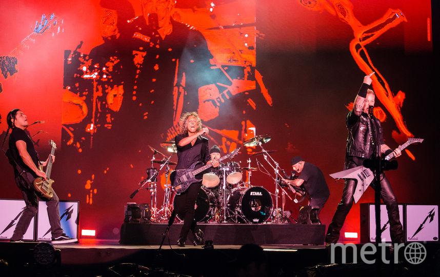 Группа Metallica. Фото Getty
