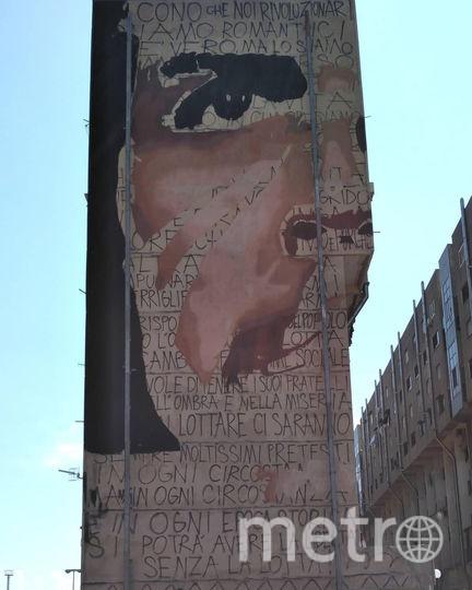 Мурал с Че Геварой в Италии. Фото Предоставлено организаторами