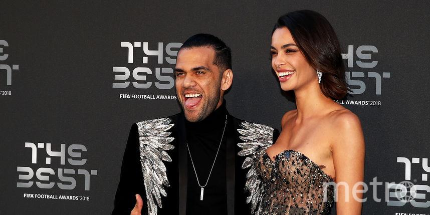 Звёзды футбола поразили публику нарядами на премии The Best FIFA