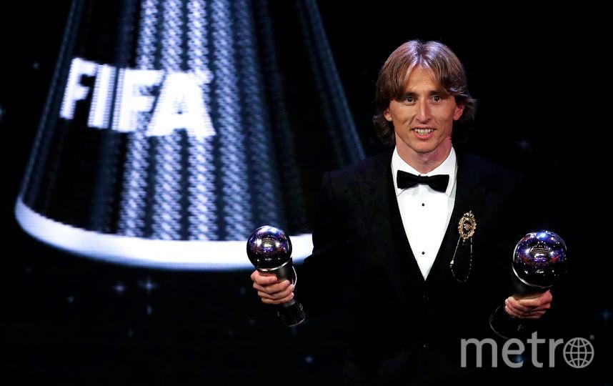 Обладатель премии лучшему футболисту года Лука Модрич. Фото Getty