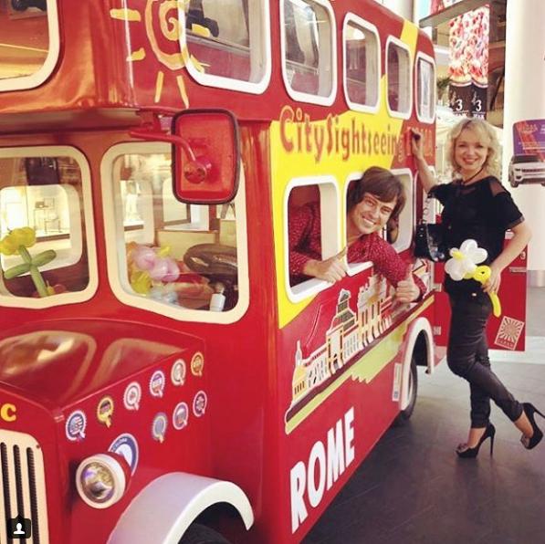 Виталина Цымбалюк-Романовская и Прохор Шаляпин. Фото Скриншот Instagram: vitalinaromanovskaya