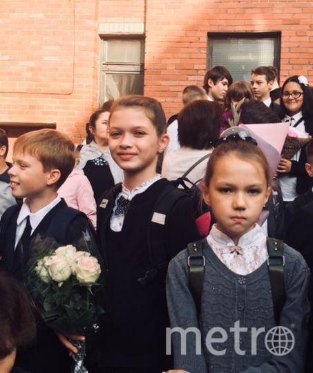 """Екатерина Тынянкина. Фото : «Снова в школу». Фото """"Metro"""""""