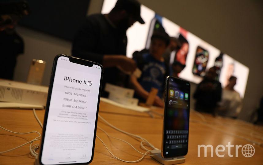Первый день продаж новой линейки iPhone в США. Фото AFP